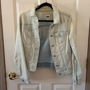 Old Navy Whitewashed Jean Jacket